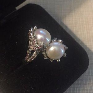 GORGEOUS pearl rhodonite garnet …